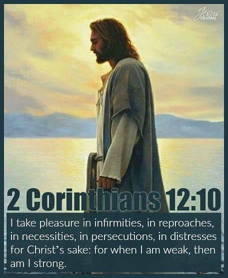 Christ 2 Cor 12.10