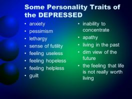 depression signs