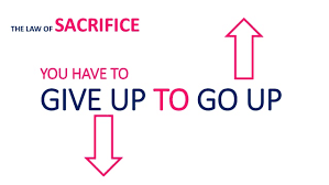 give up to go up
