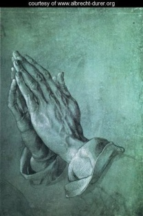 praying hands by Albrecht Durer drawing one of many drawings of hands that he did