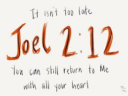 Joel 2.12