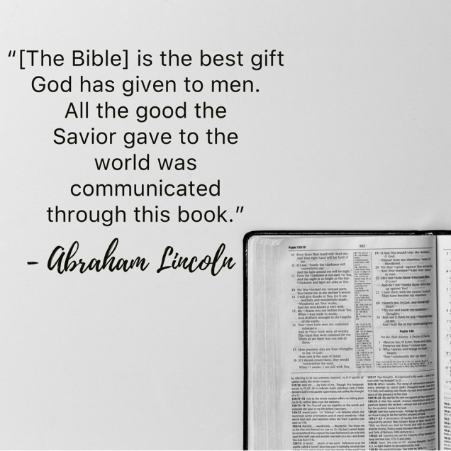 Lincoln and the Bible